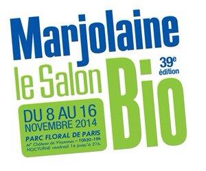 Logo du salon Marjolaine 2014