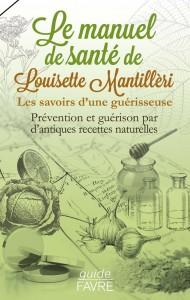 """Livre """"Manuel de santé"""" de Louisette Mantillèri"""