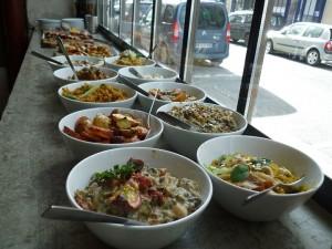 Exemples de plats chez Soya Cantine Bio