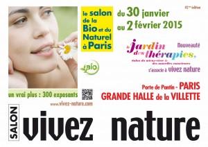 Affiche salon Vivez Nature Janvier 2015