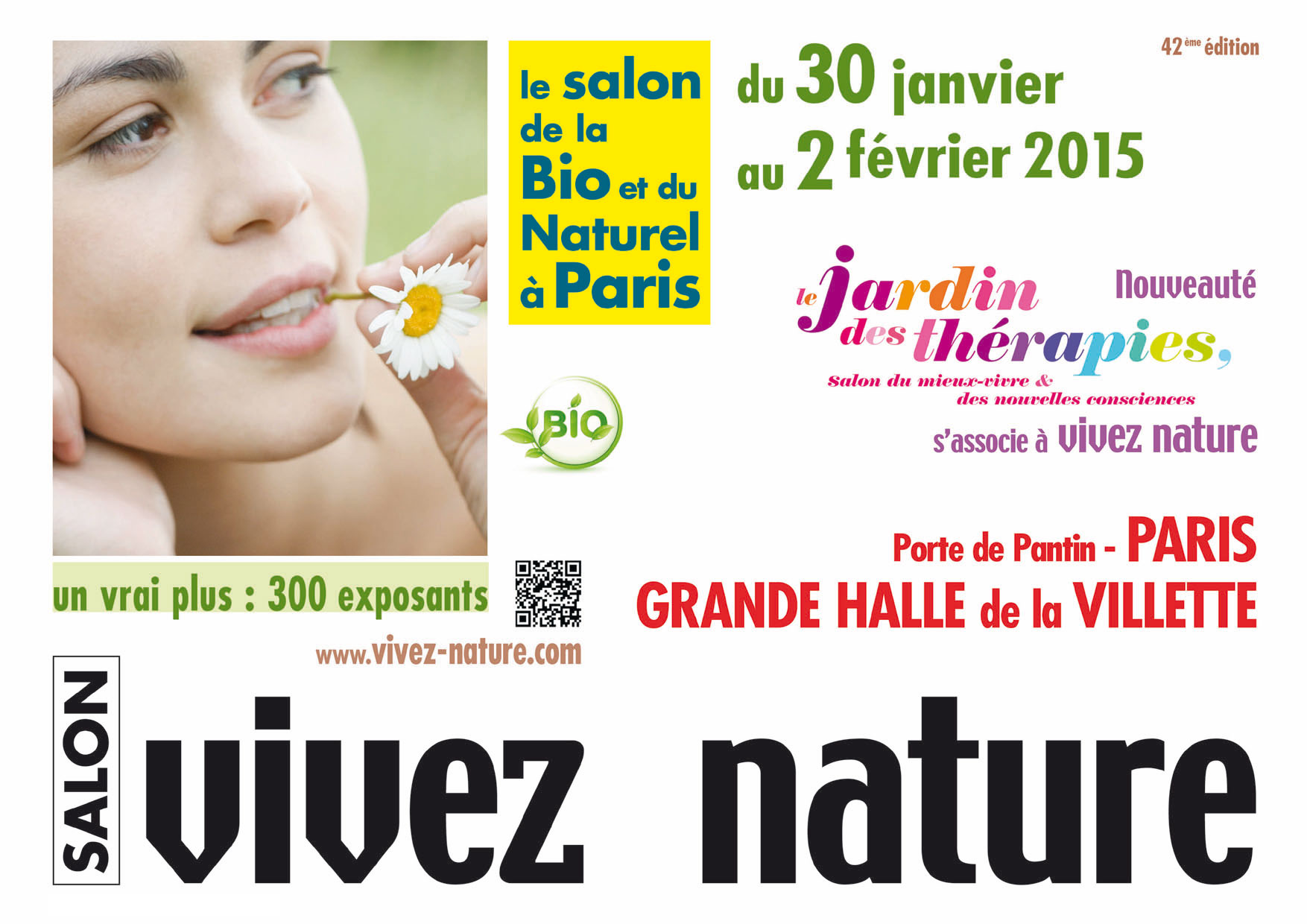 Salon Vivez Nature Janvier 2015