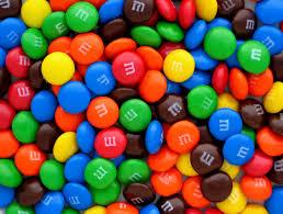 Additifs alimentaires dans les M&M's