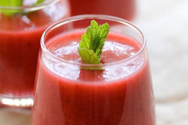 gaspacho fraises