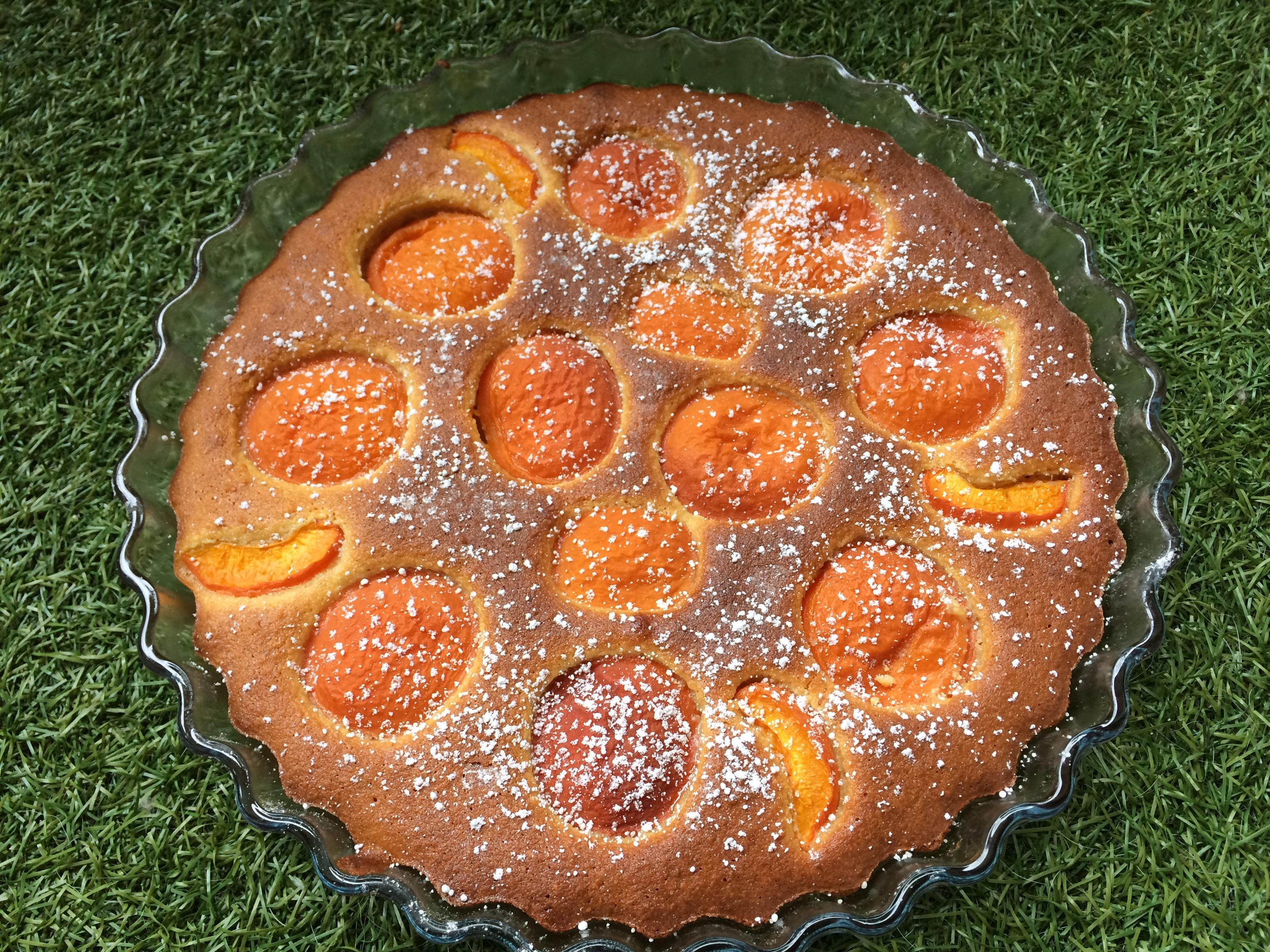 Recette de tarte aux abricots sans gluten pr par e maison - Recette de tarte aux abricots ...